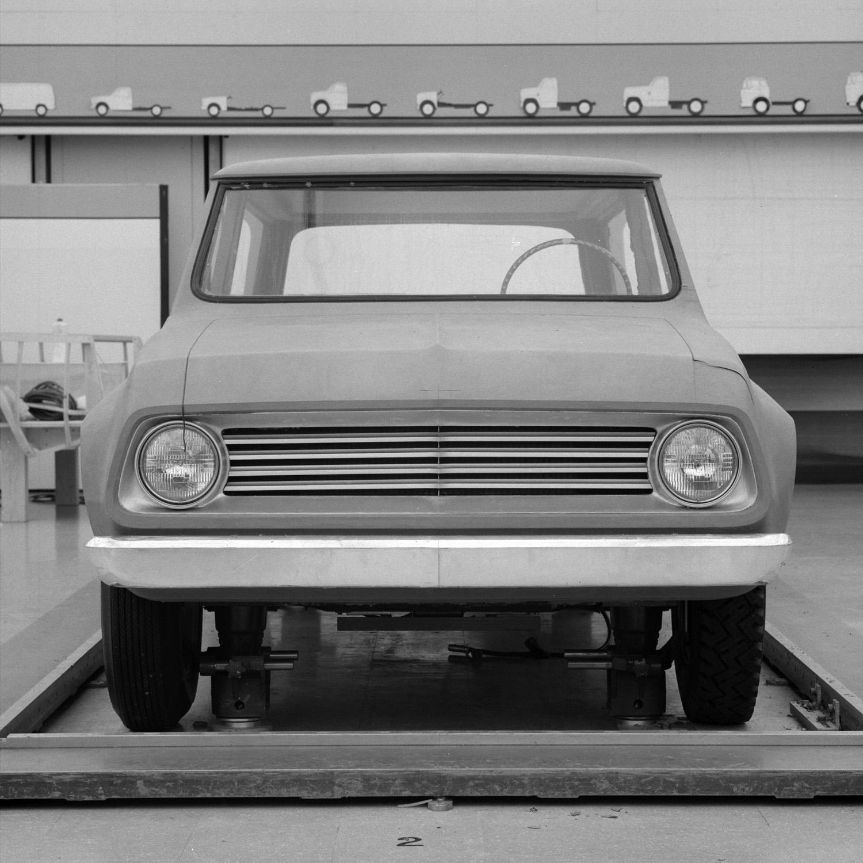 1967 Chevrolet Blazer concept design bare front grille