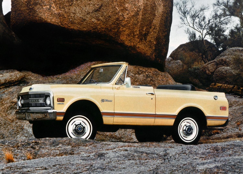 1969 Chevrolet K-5 Blazer