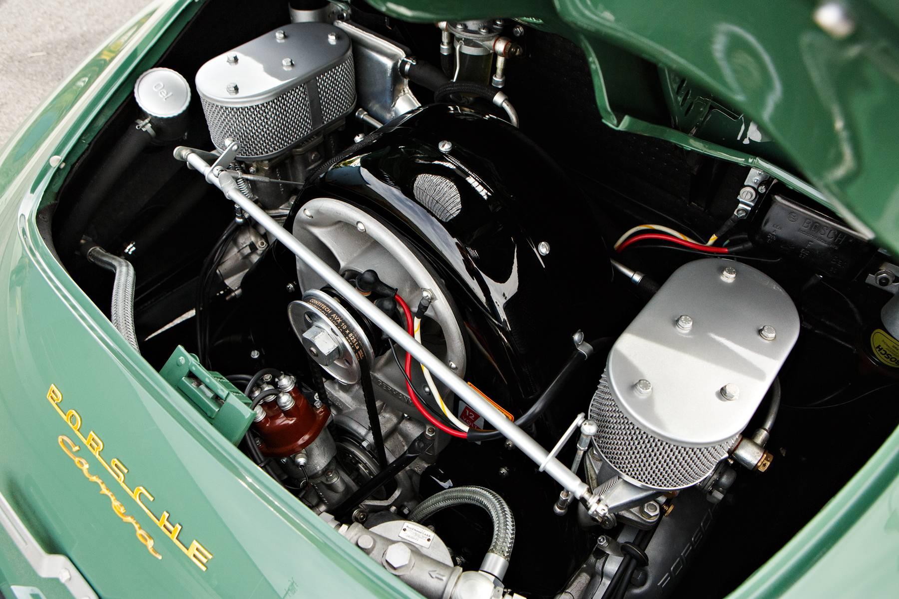 1958 Porsche 356 A 1500 GS/GT Carrera Speedster engine