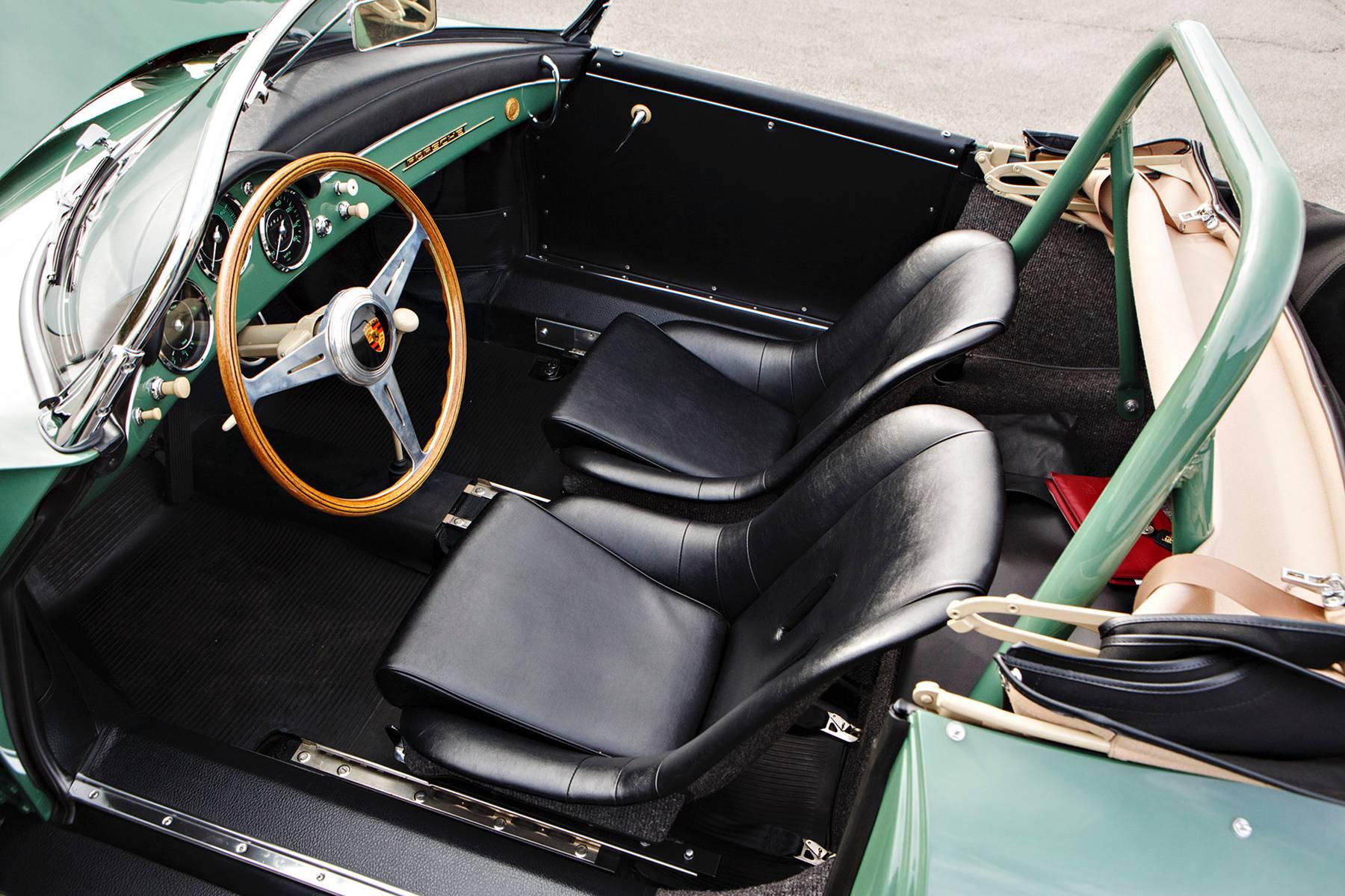 1958 Porsche 356 A 1500 GS/GT Carrera Speedster interior