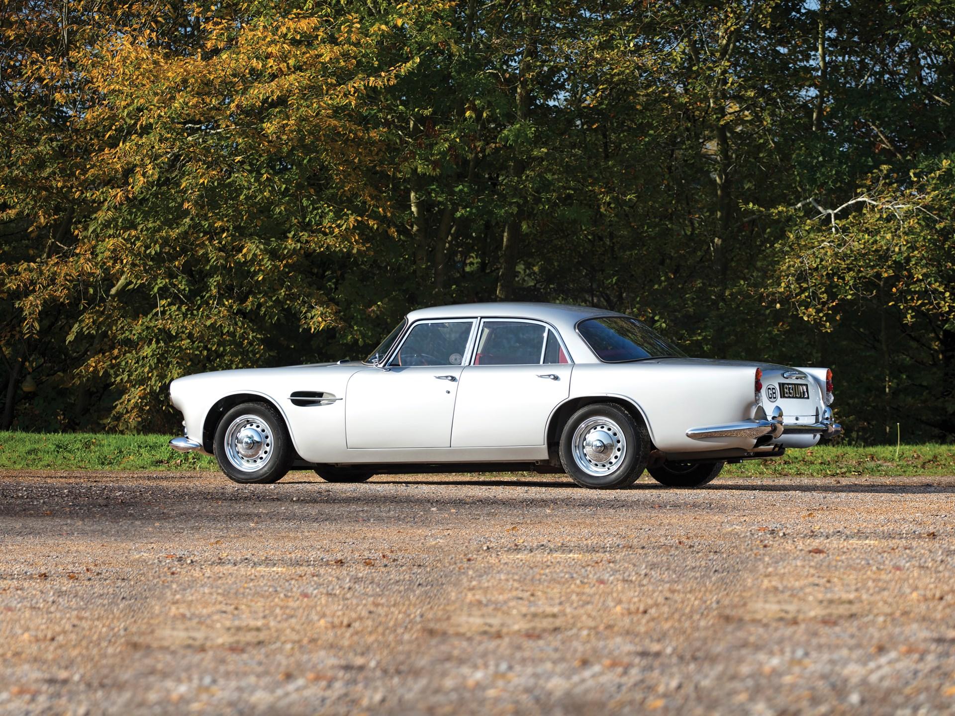 1962 Aston Martin Lagonda Rapide 3/4 rear