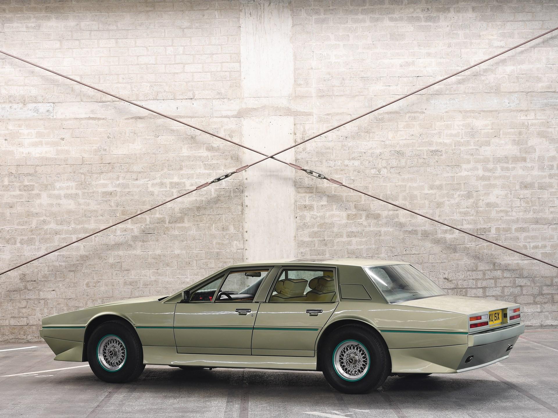 1983 Aston Martin Tickford Lagonda 3/4 rear
