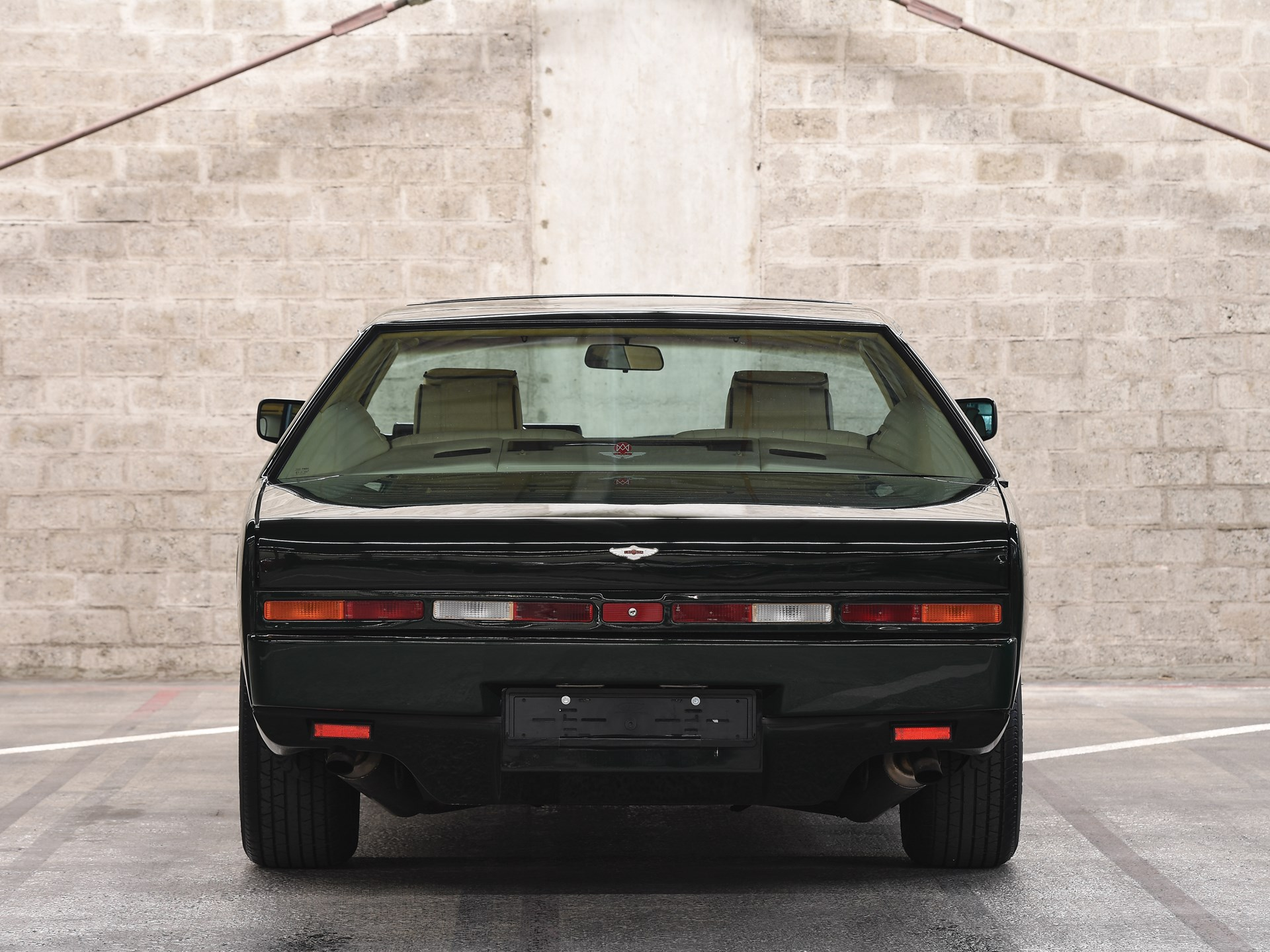 1989 Aston Martin Lagonda Series 4 rear end
