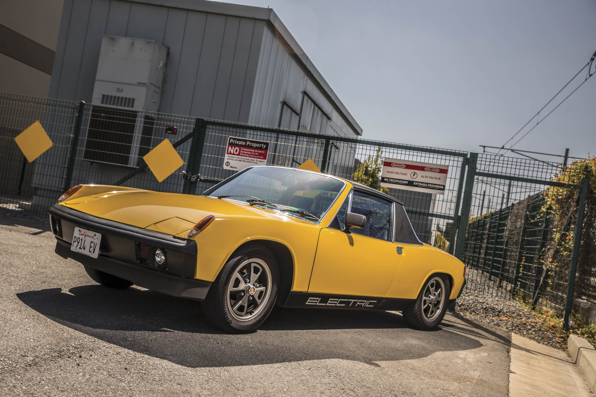 The graphic on the rocker panel of Mark Brems's 914 tells its story
