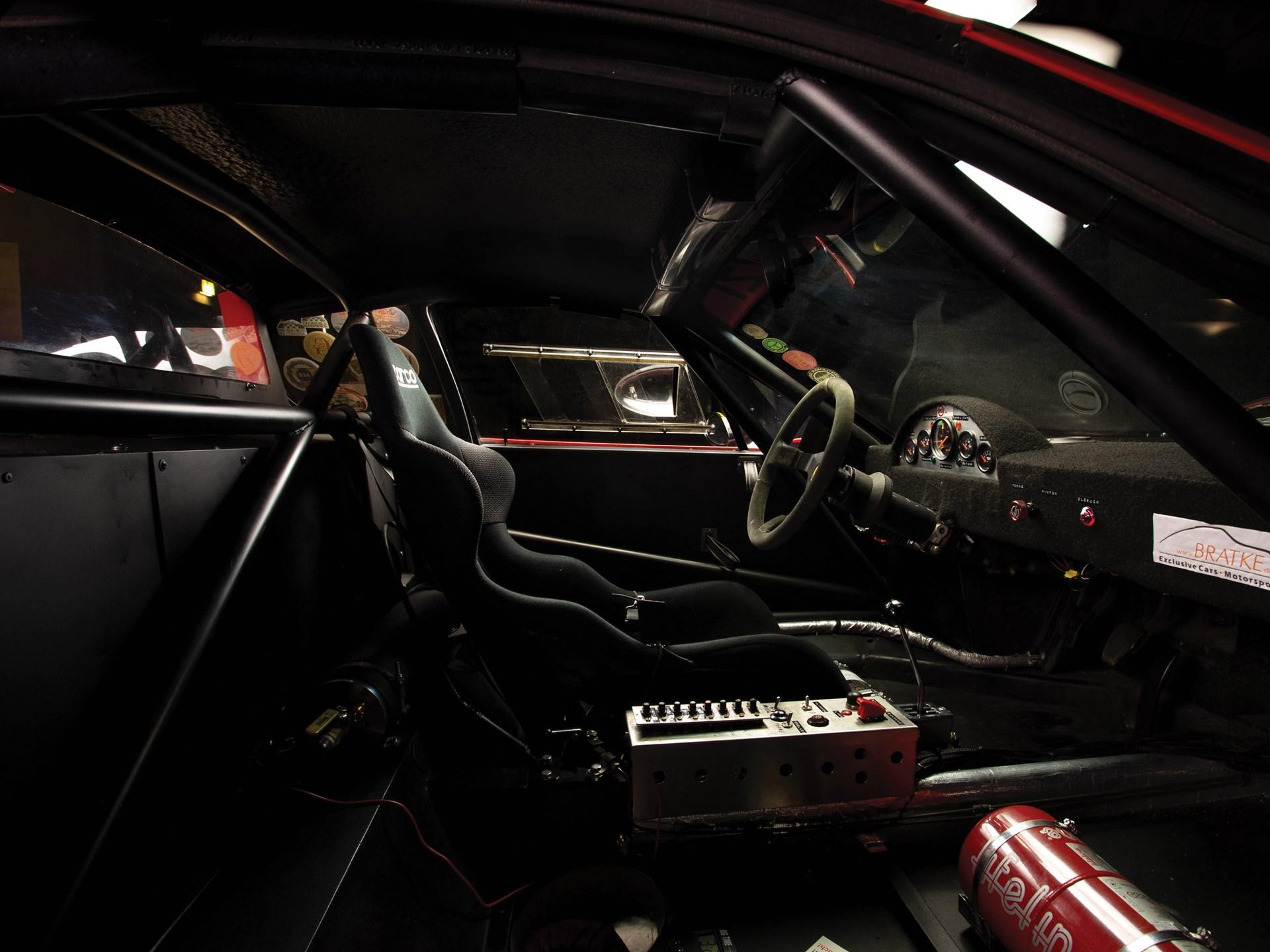 1980 Ferrari 512 BB Competizione passenger side interior