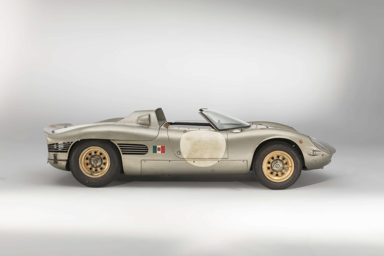 1966 Serenissima Spyder side profile