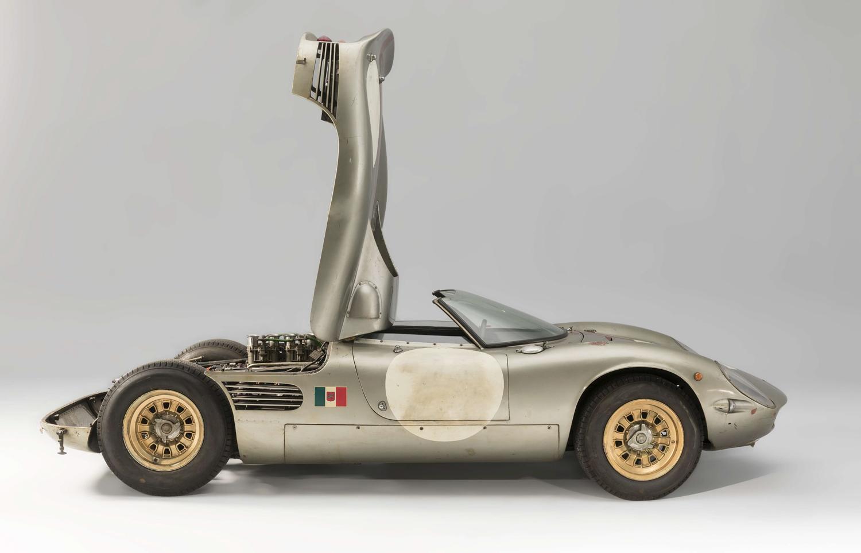 1966 Serenissima Spyder side hood up