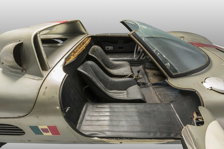 1966 Serenissima Spyder passenger side interior