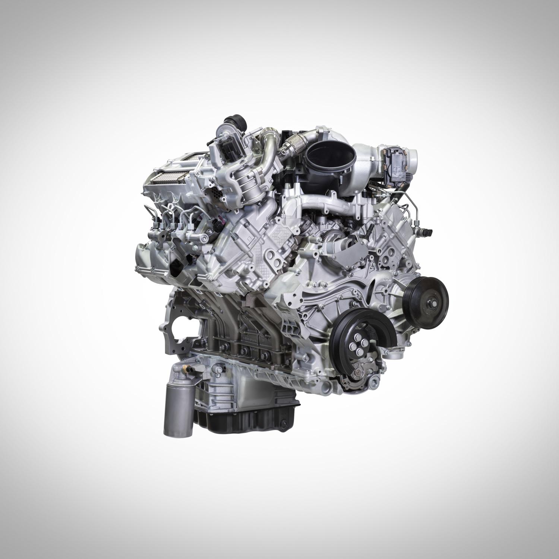 2020 Ford F-250 Super Duty engine
