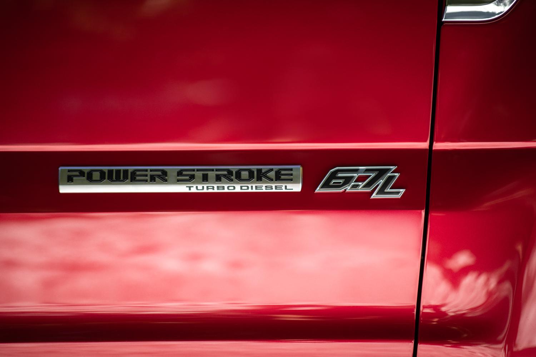 2020 Ford F-250 Super Duty power stroke badge