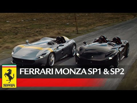 You can finally hear the V-12 scream of the Ferrari Monza SP1 and SP2 thumbnail