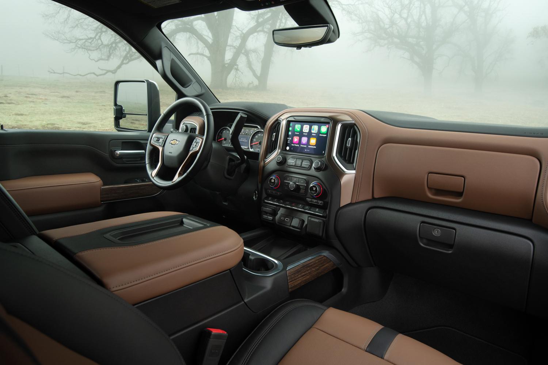 2020 Chevrolet Silverado 2500 HD interior passenger