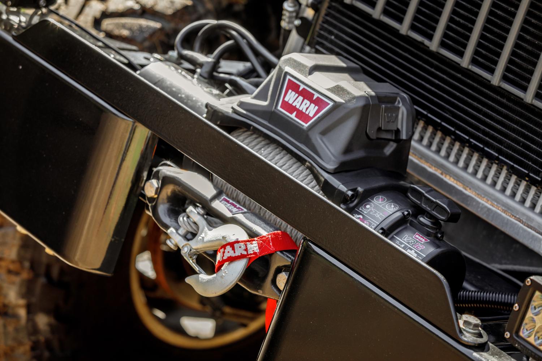 1949 Dodge Power Wagon warn winch