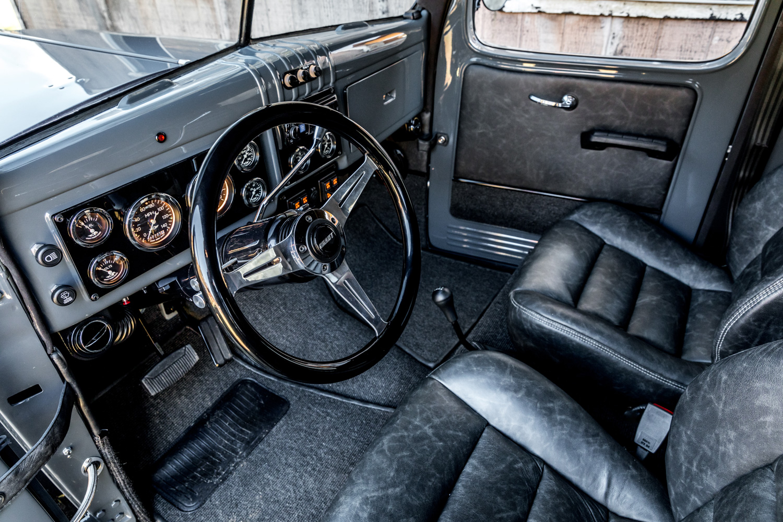 1949 Dodge Power Wagon interior driver
