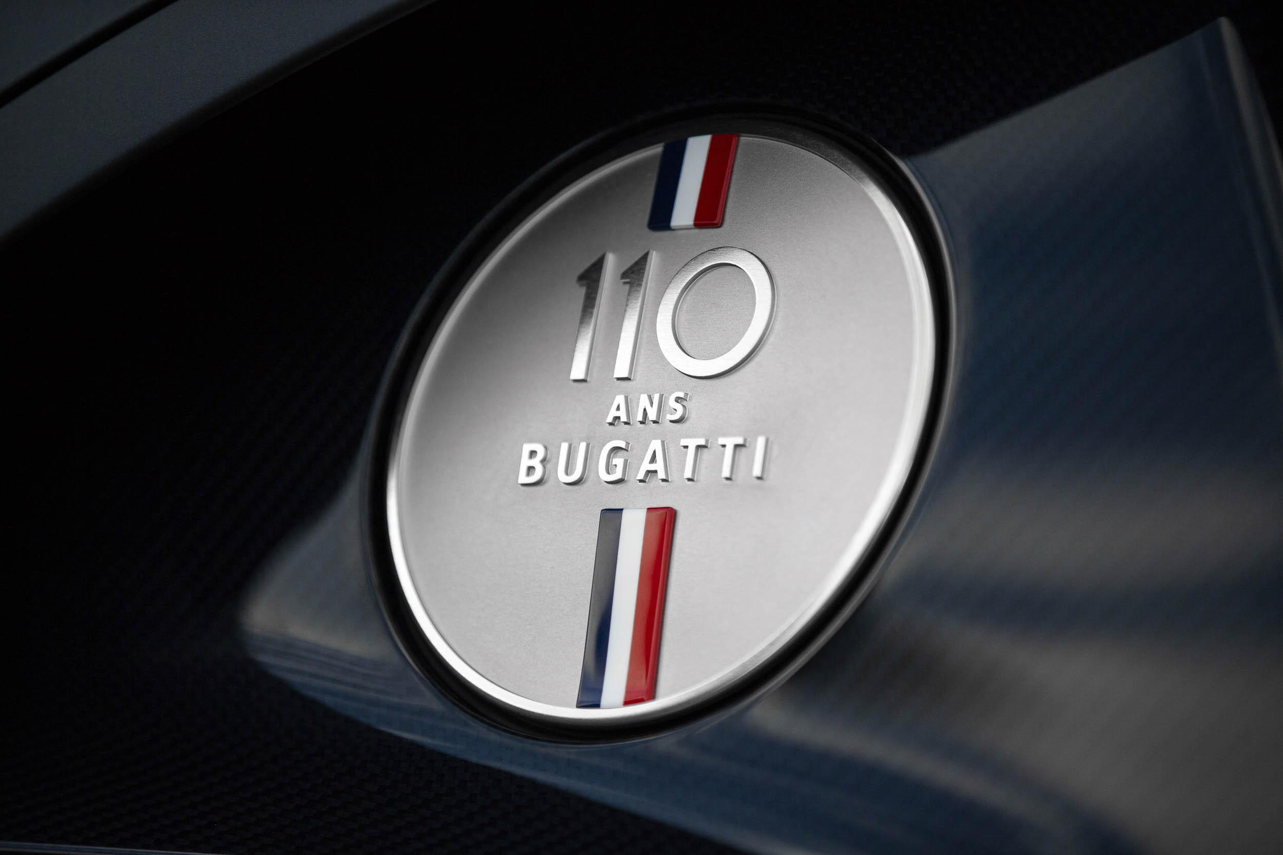 """Bugatti Chiron Sport """"110 ans Bugatti"""" special edition"""