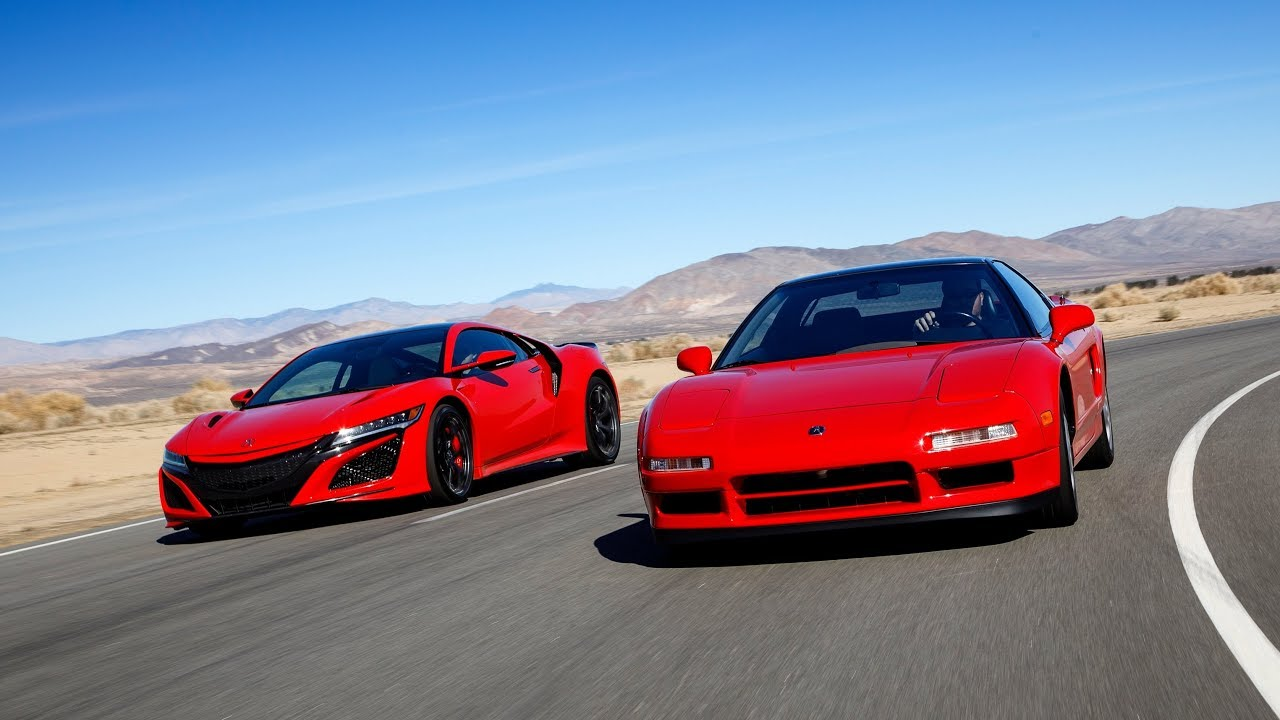 The original Acura NSX and the modern NSX celebrate 30 years thumbnail