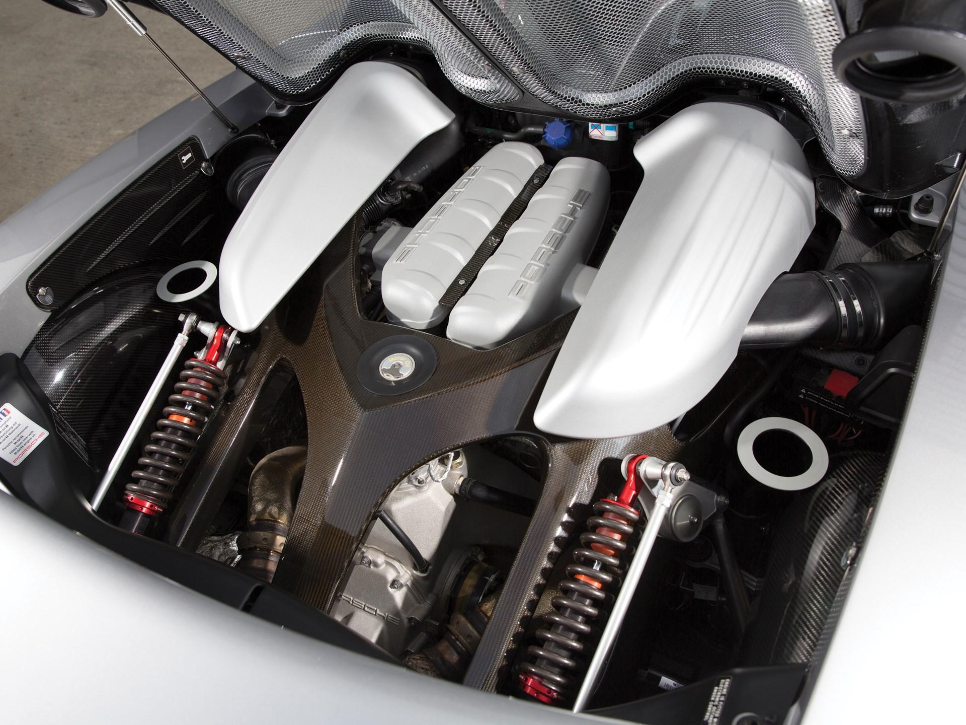 2005 Porsche Carrera GT v10 engine