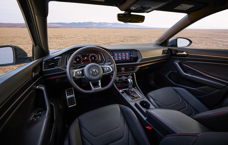 2019 Volkswagen Jetta GLI driver interior
