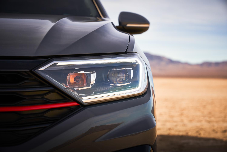 2019 Volkswagen Jetta GLI headlight detail