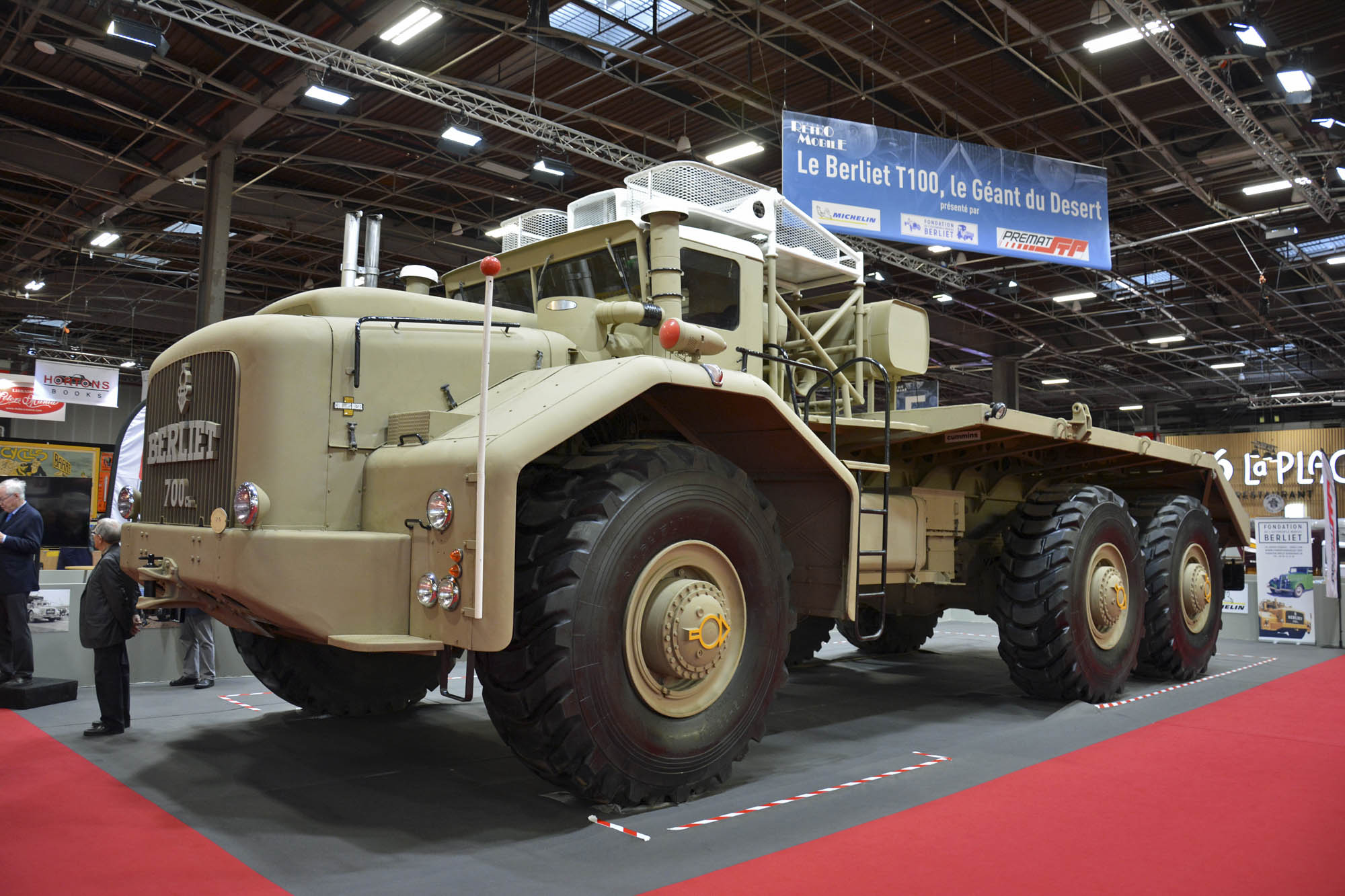 The rare, giant Berliet T100 truck will blow your mind thumbnail