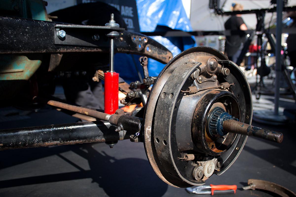 Old Brakes asbestos ford