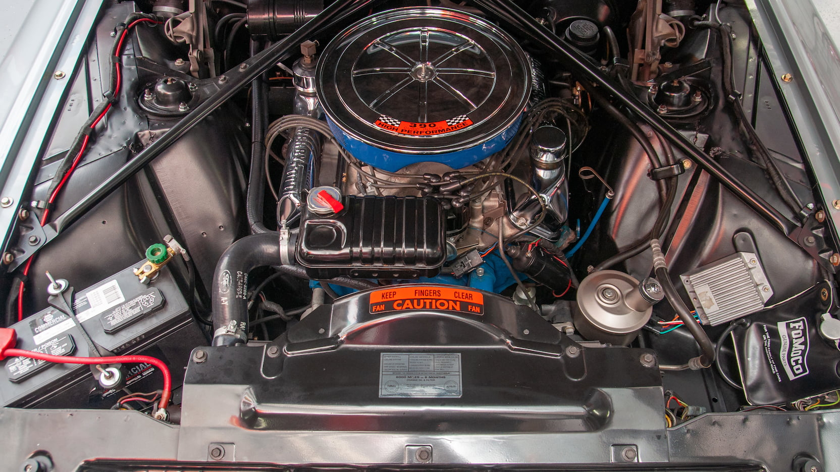 1964 Ford Thunderbird engine