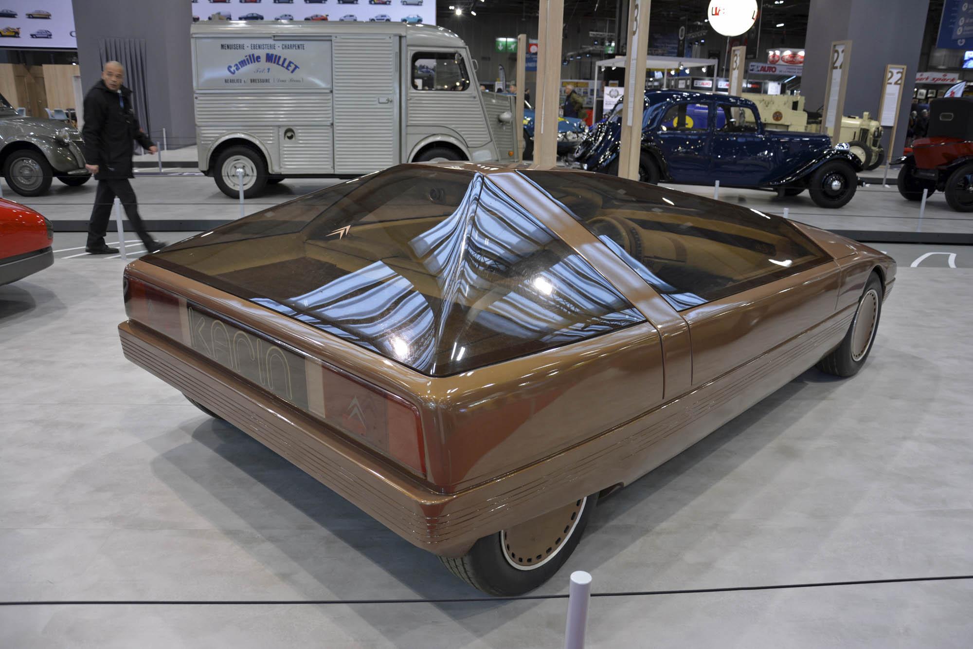 Citroën Karin concept rear 3/4