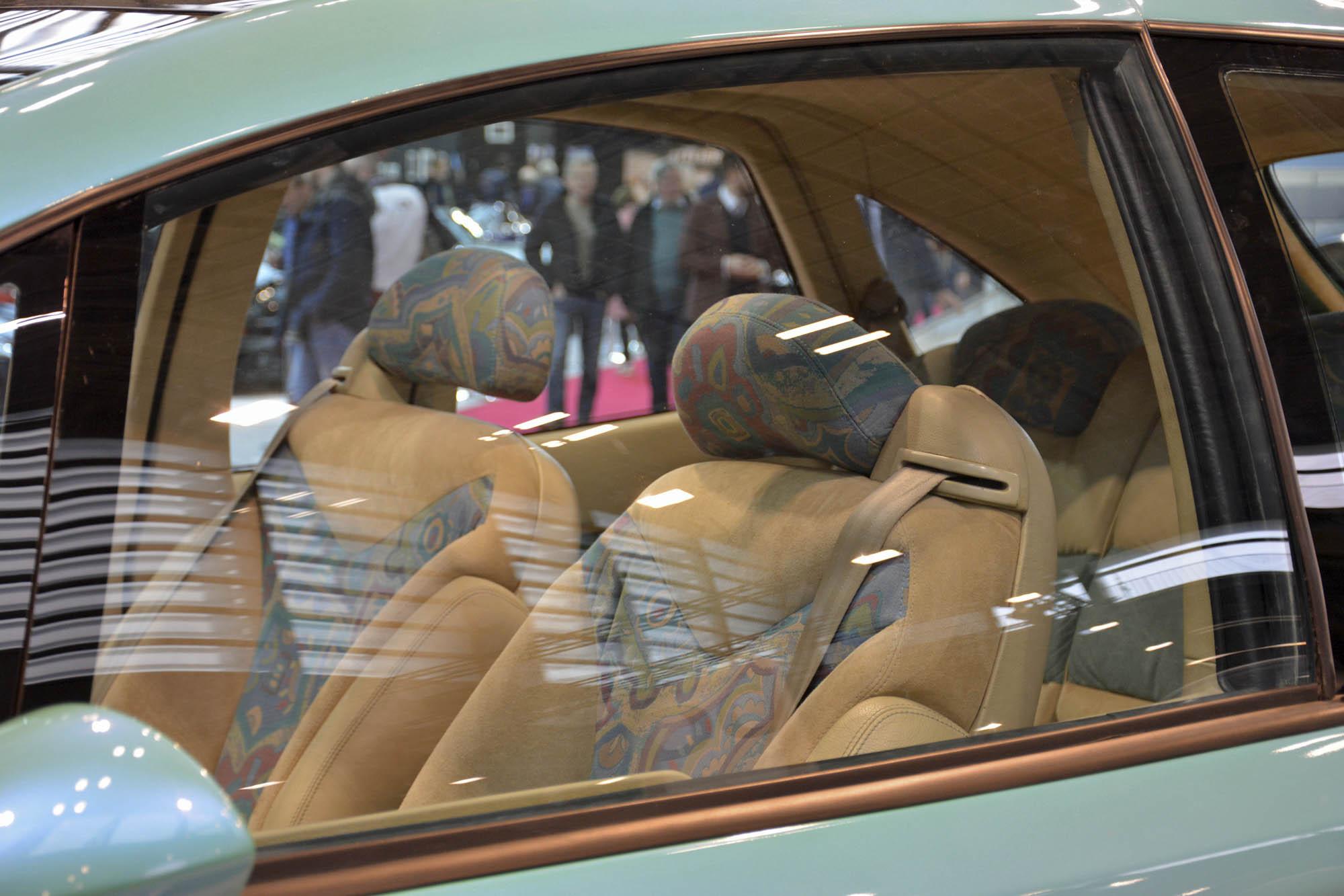 Citroën Xanae concept seat detail