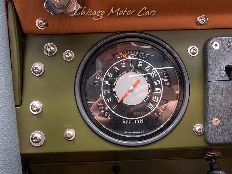 1969 Ford Bronco SEMA Build speedometer