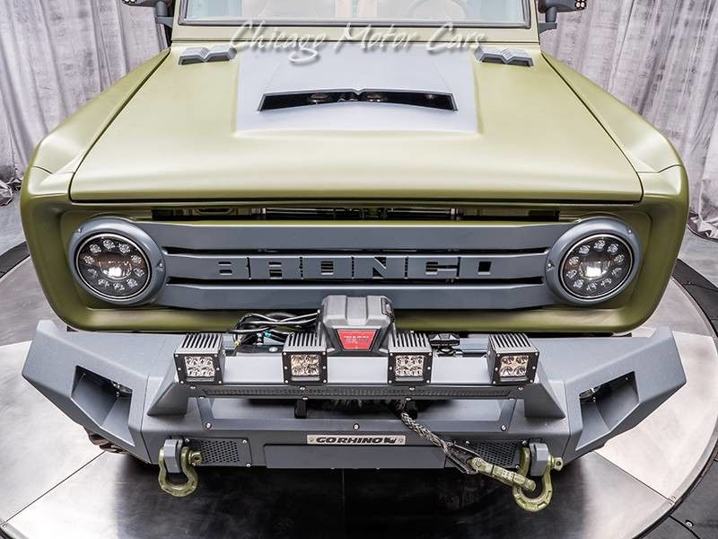 1969 Ford Bronco SEMA Build front end detail