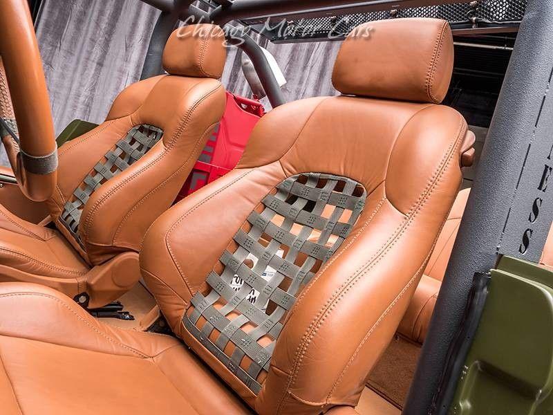 1969 Ford Bronco SEMA Build interior seats