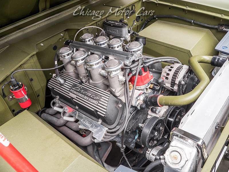 1969 Ford Bronco SEMA Build engine
