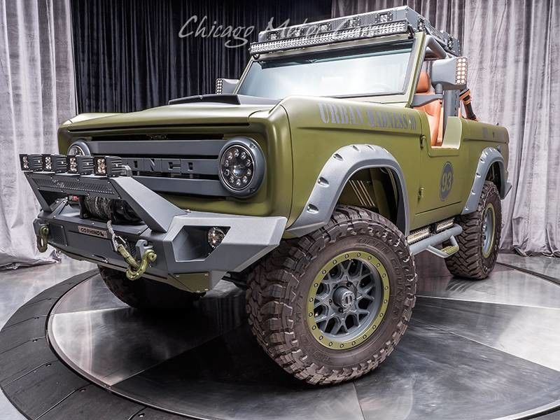1969 Ford Bronco SEMA Build 3/4 front low