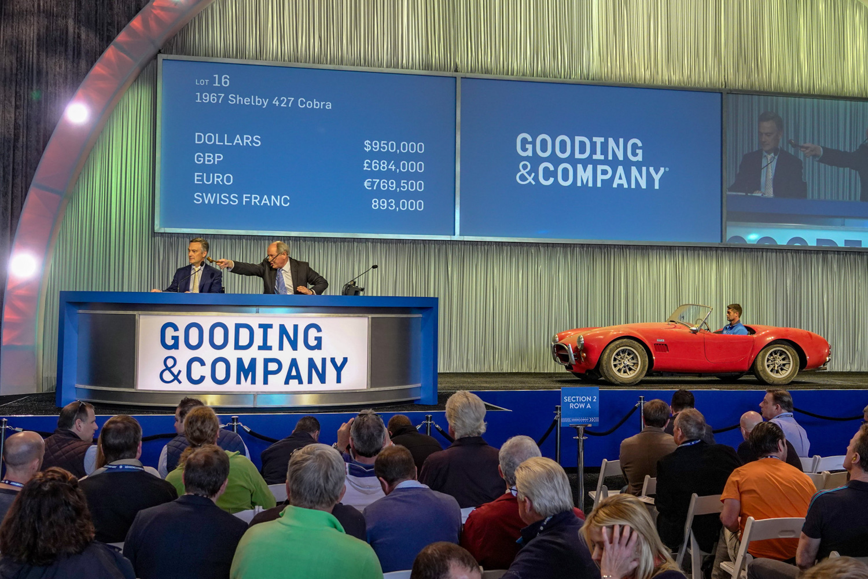 Gooding and Company cobra