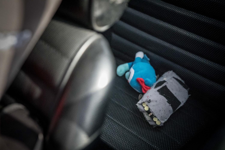 Nissan GT-R Hakosuka rear seat