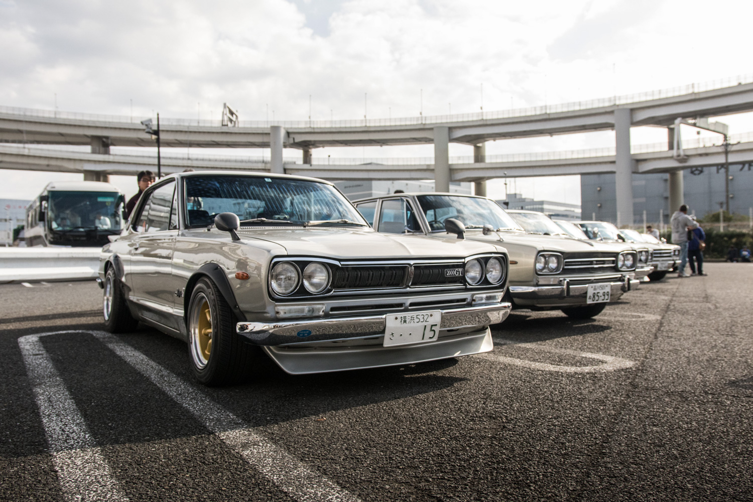 """The Hakosuka Nissan Skyline GT-R was a legend well before it was named """"Godzilla"""" thumbnail"""