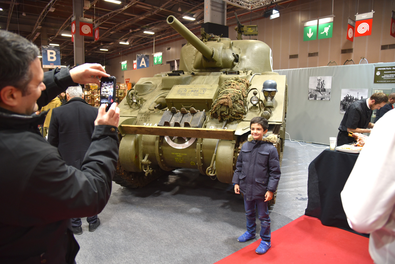 wwii tank retromobile