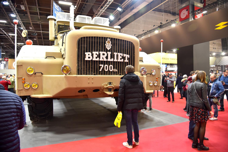 retromobile giant berliet truck