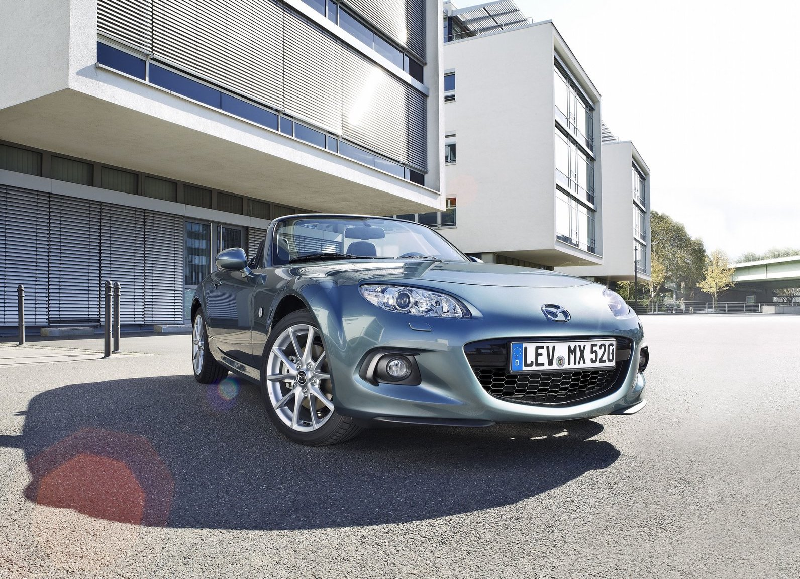 2013 Mazda MX-5 Miata 3/4 low