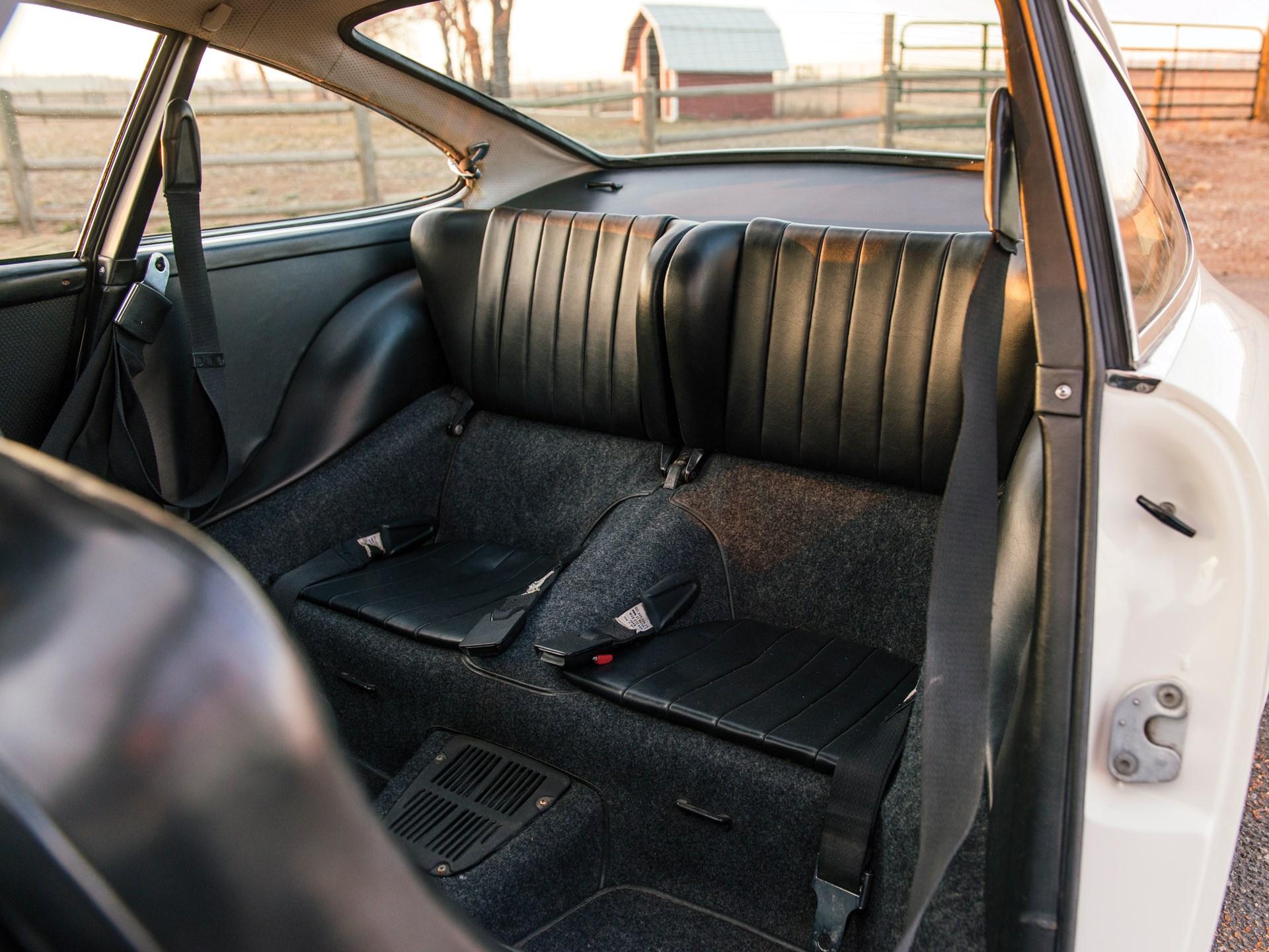 1969 Porsche 912 rear seats
