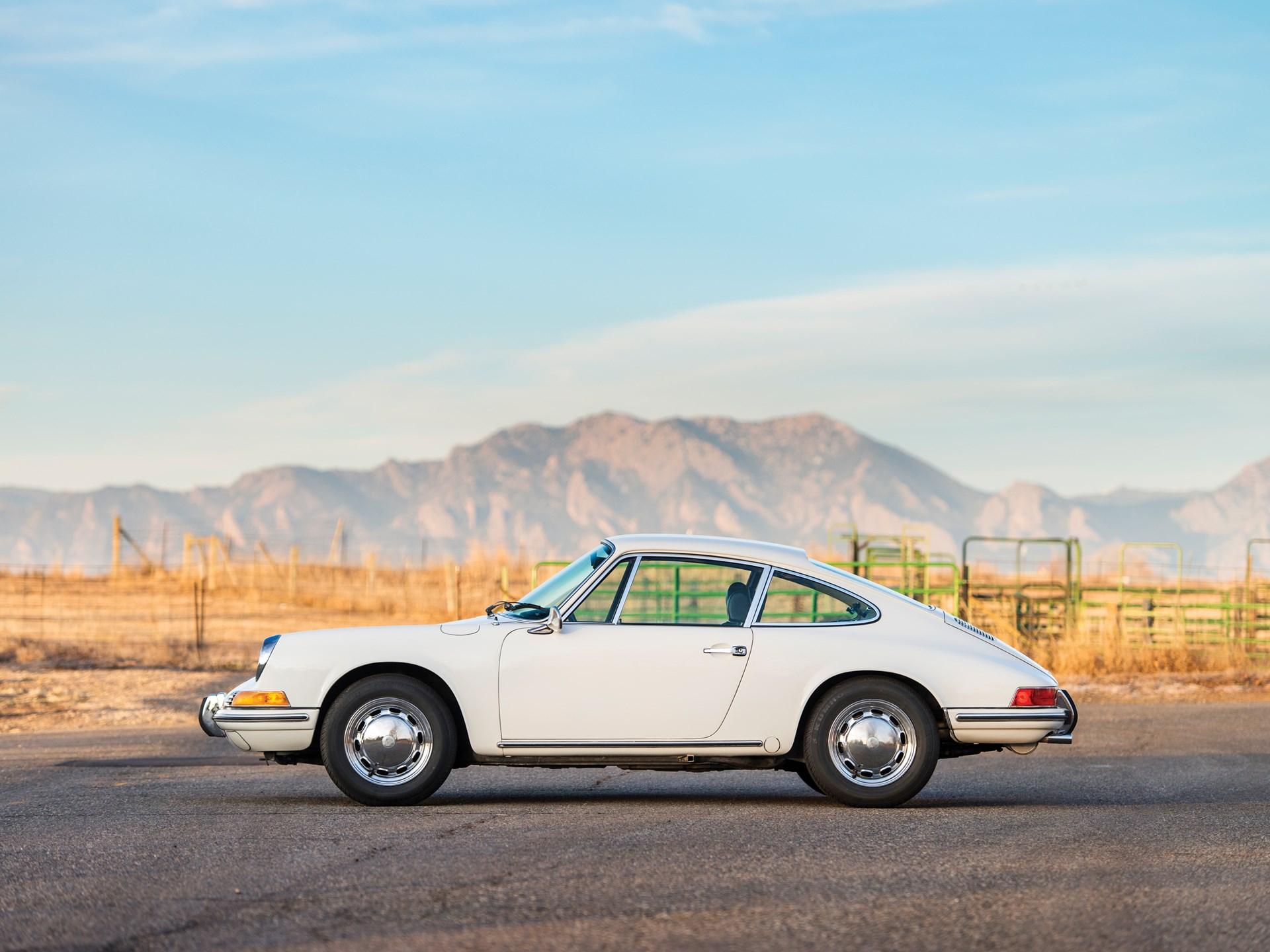 1969 Porsche 912 side profile