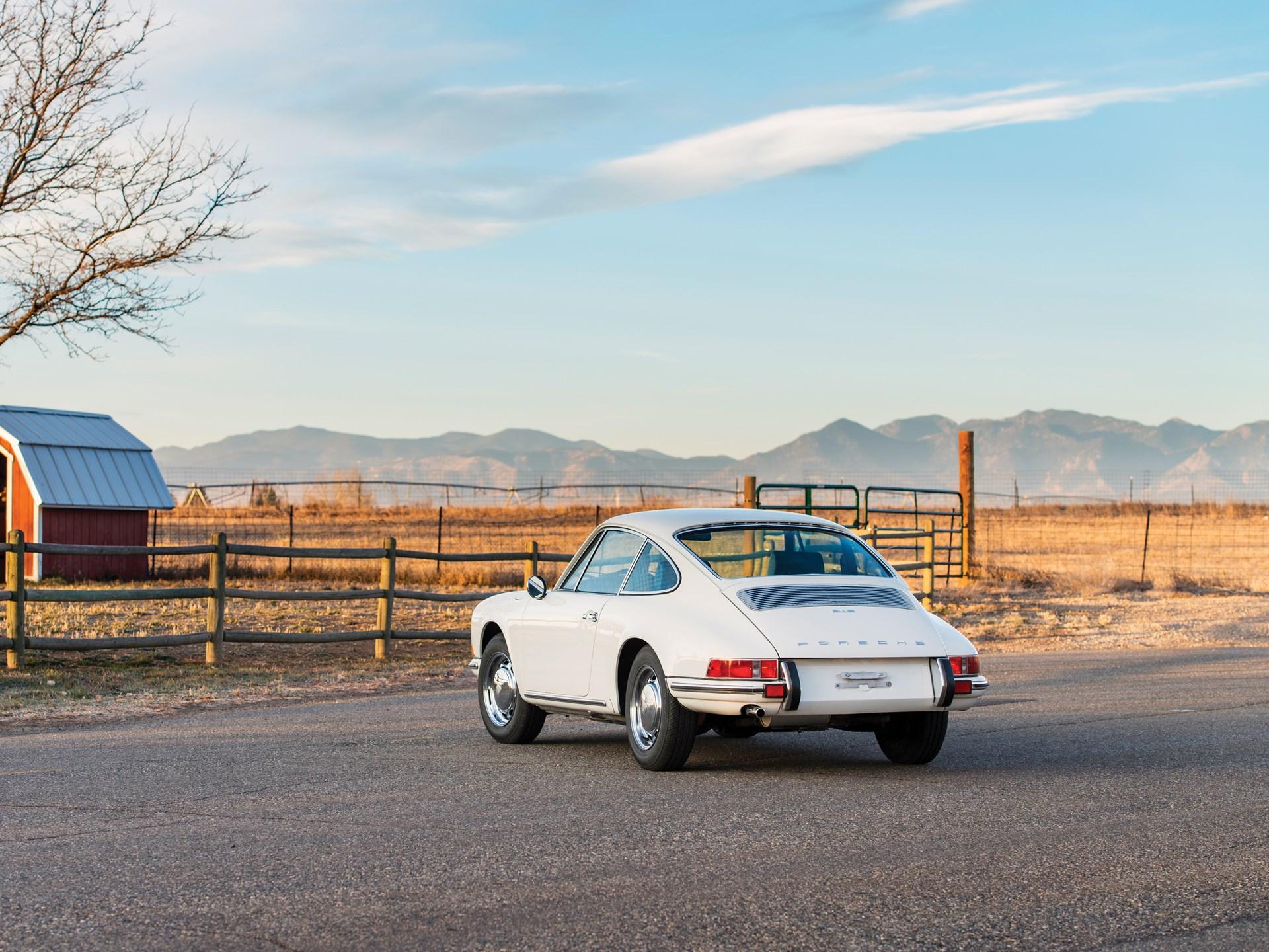1969 Porsche 912 rear 3/4