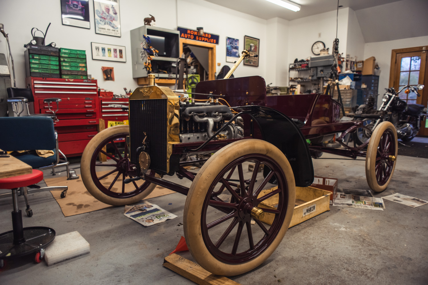 why i drive red model t