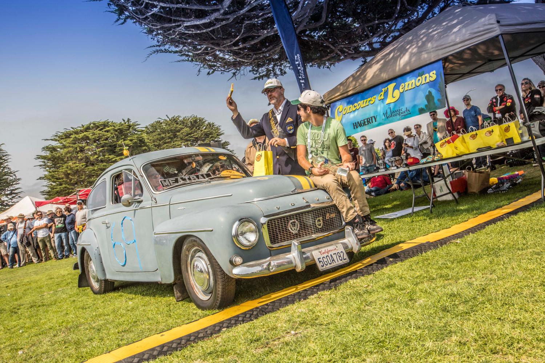 Pebble Beach Concours d'Lemons 2018 awards