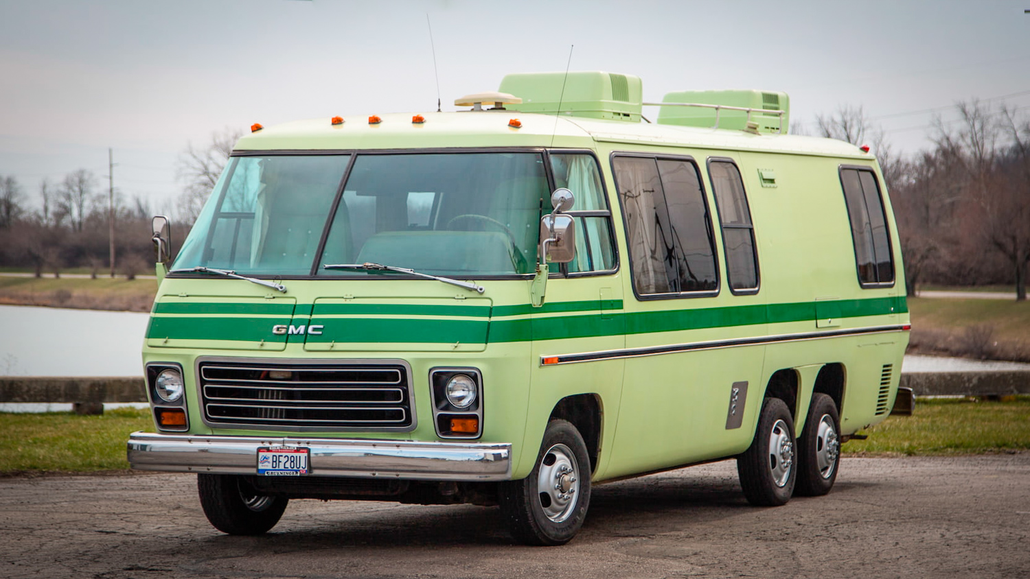 The 1972-78 GMC motorhome is a front-wheel-drive wonder