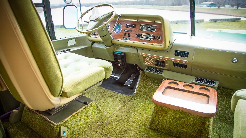 1978 GMC Royale motorhome front seat