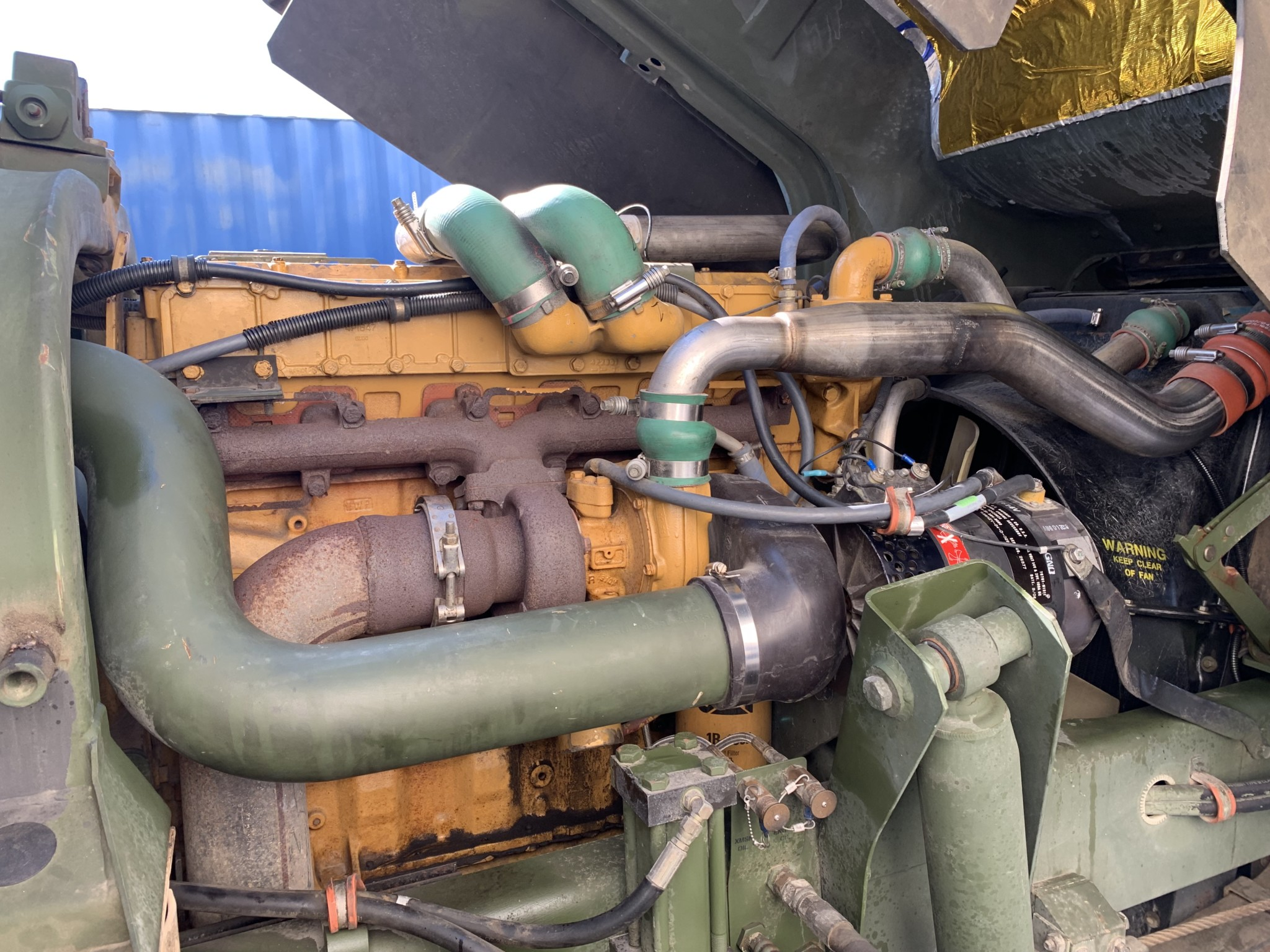 1998 Stewart & Stevenson LMTV M1078 engine