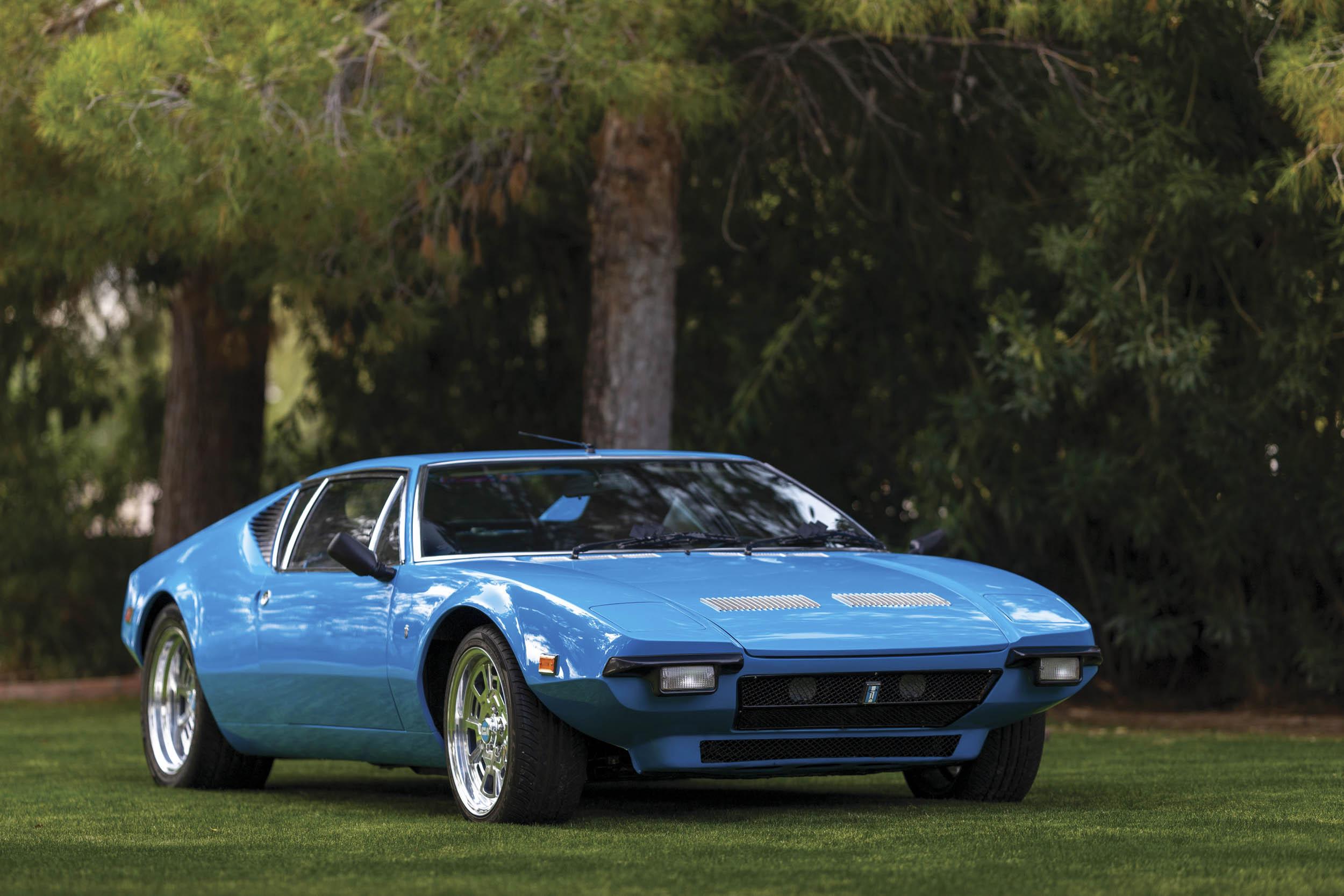 1971 De Tomaso Pantera front 3/4