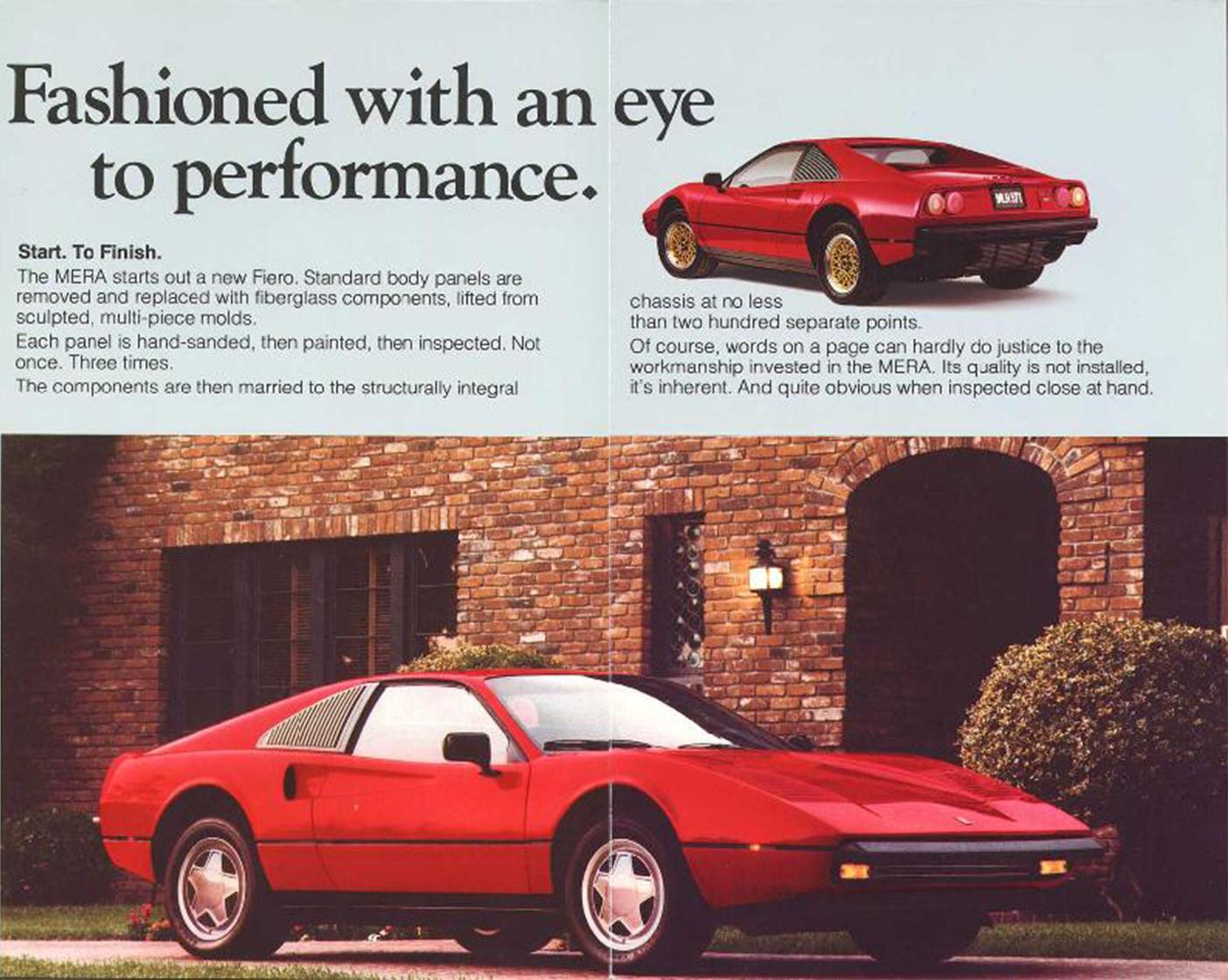 Pontiac Merra sales brochure