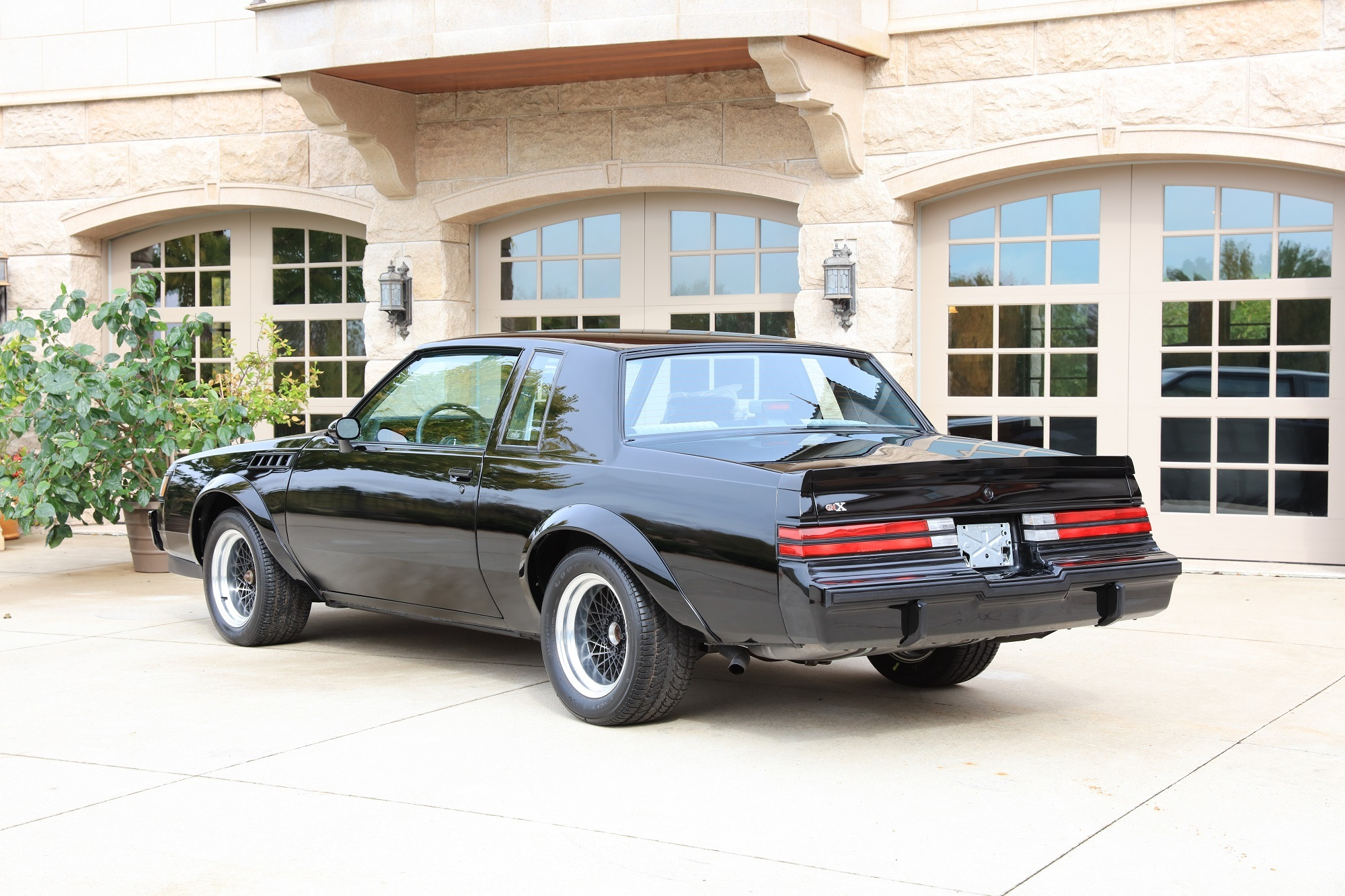 1987 Buick GNX rear 3/4